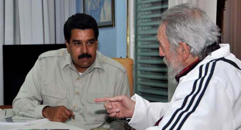 Destaca Nicolás Maduro legado histórico de Fidel Castro