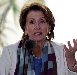 Nancy Pelosi, candidata demócrata a líder de la Cámara de Representantes de EEUU