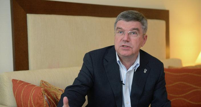 Thomas Bach, presidente de la Comisión de Coordinación del Comité Olímpico Internacional(COI)