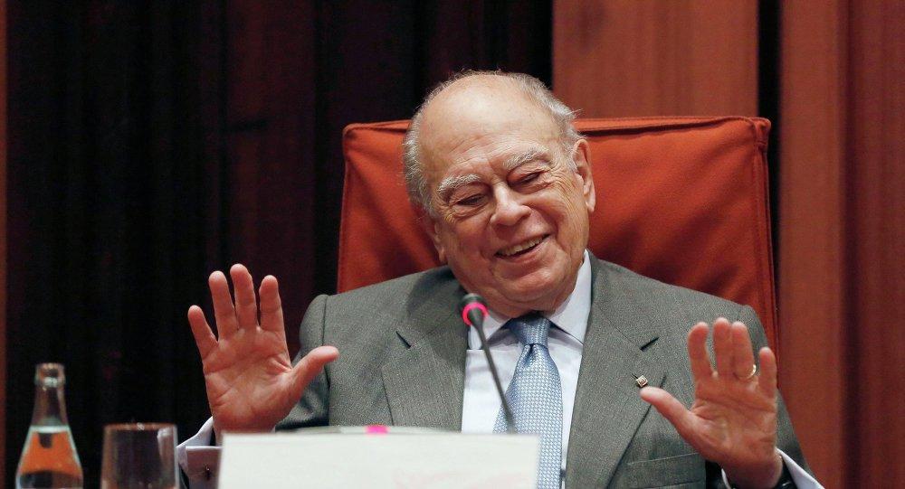 Jordi Pujol, expresidente de Cataluña