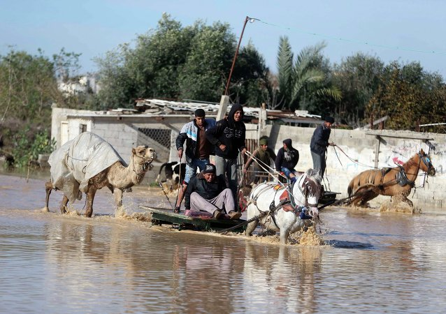 Autoridades israelíes desmienten que Gaza se haya inundado por presas de agua israelí