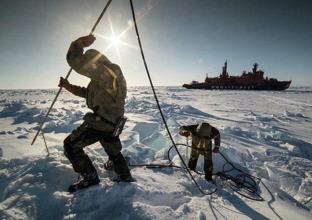 Expedición ártica de Rosneft y ExxonMobil