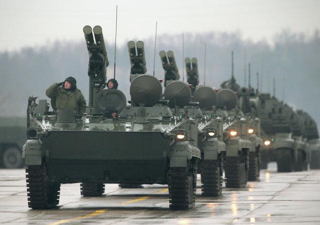 Sistema antitanque ruso Jrizantema-S