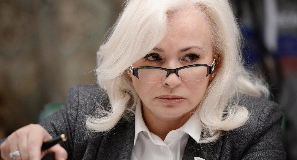 Olga Kovitidi, senadora de Crimea