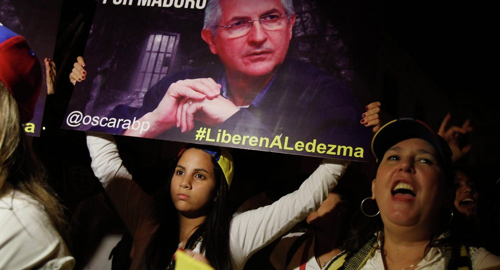 Opositores sumaron sus voces de rechazo a la detención del Alcalde Metropolitano de Caracas, Antonio Ledezma