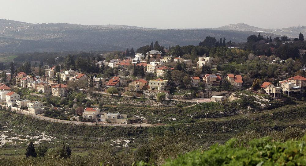 Colonia judía en Cisjordania (archivo)
