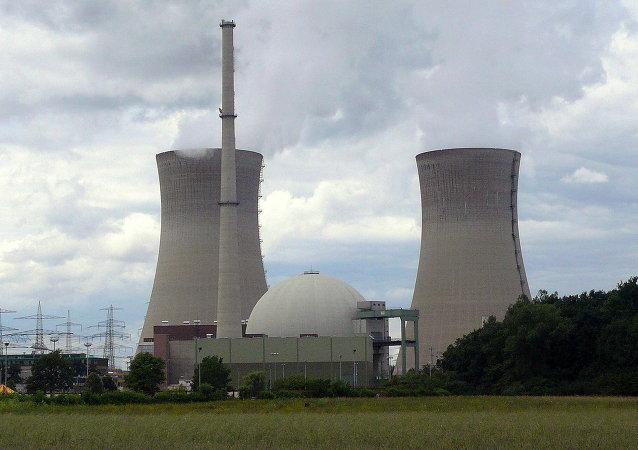 Central nuclear de Grafenrheinfeld en Alemania