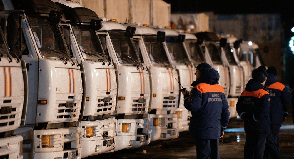 Convoy humanitario para Donbás (Archivo)