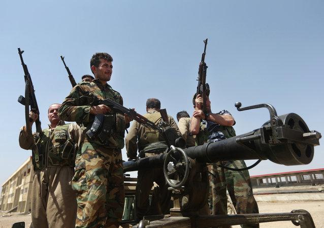 El peshmerga, las fuerzas kurdas que combaten al EI en Irak