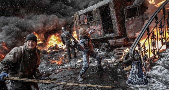 Ucrania en fotos de Andréi Stenin, reportero de Rossiya Segodnya desaparecido en Donetsk