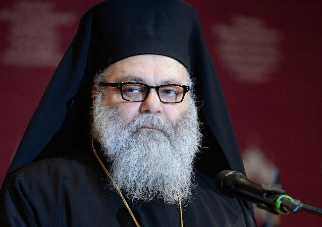 Juan X, patriarca de Antioquía y todo el Oriente