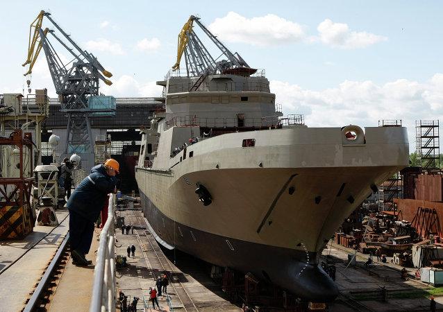 Rusia construye su segundo buque Ivan Gren