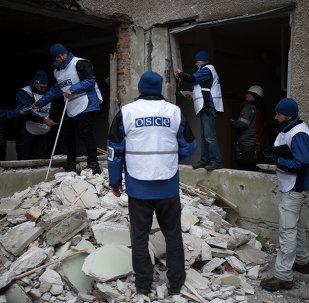Observadores de la OSCE (Archivo)