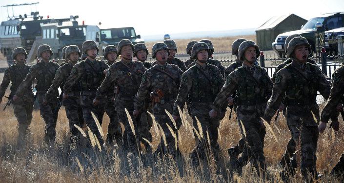 Maniobras conjuntas antiterroristas Misión de Paz (archivo)