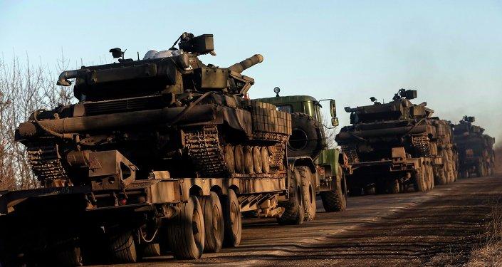 Armamentos pesados del Ejército de Ucrania