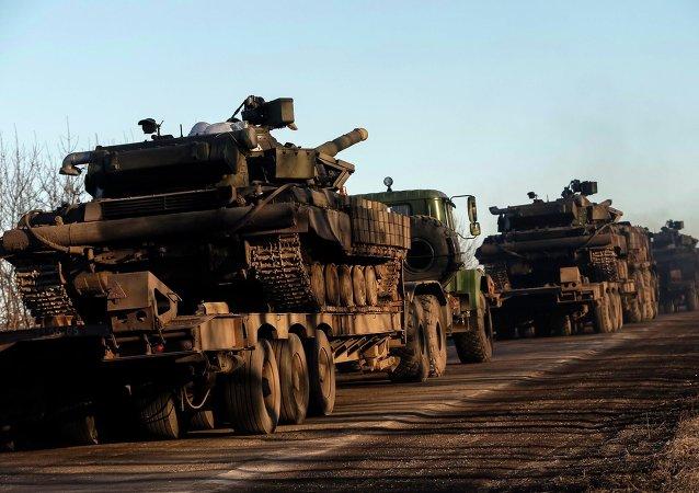 Armamentos pesados del Ejército de Ucrania (archivo)