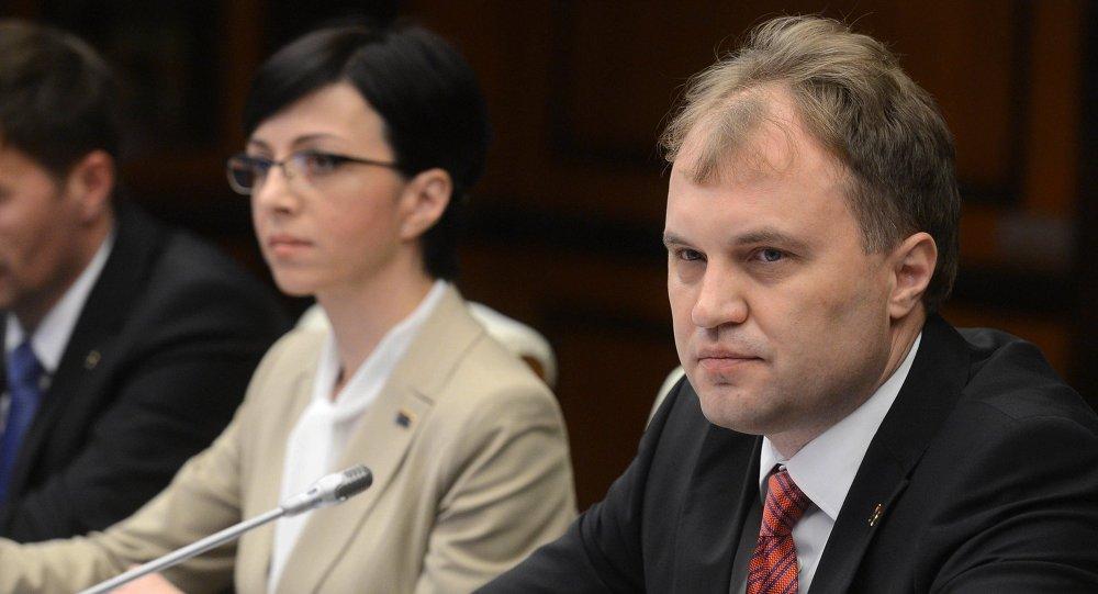 Evgueni Shevchuk, presidente de Transnistria