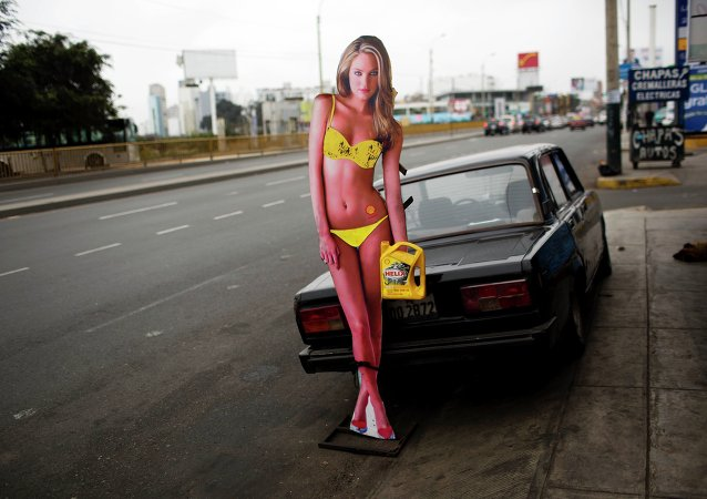 Automóviles rusos en el extranjero