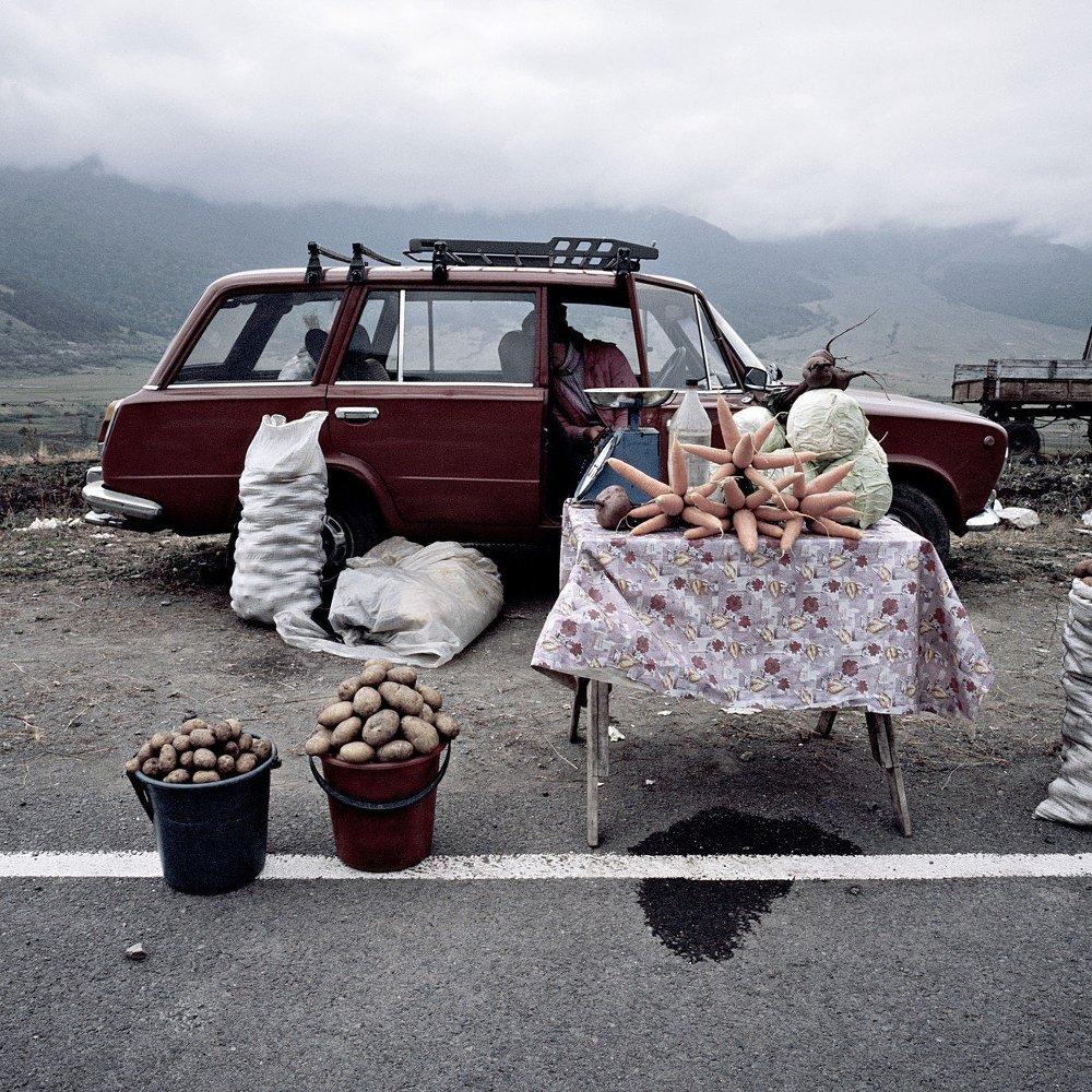 Automóvil ruso en Armenia