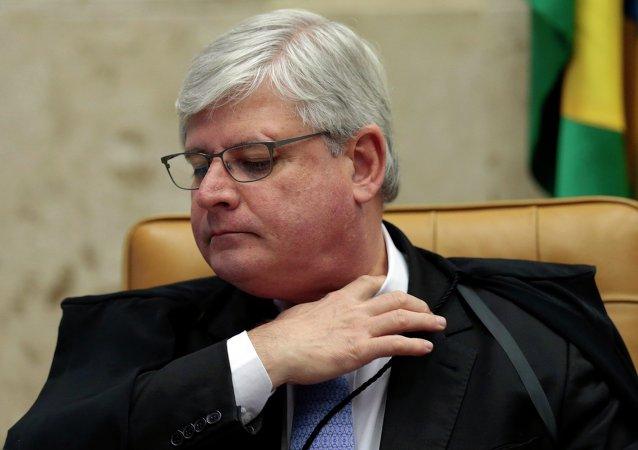 El Fiscal General de la República de Brasil, Rodrigo Janot