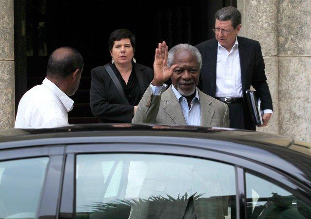 Kofi Annan, ex secretario general de la ONU