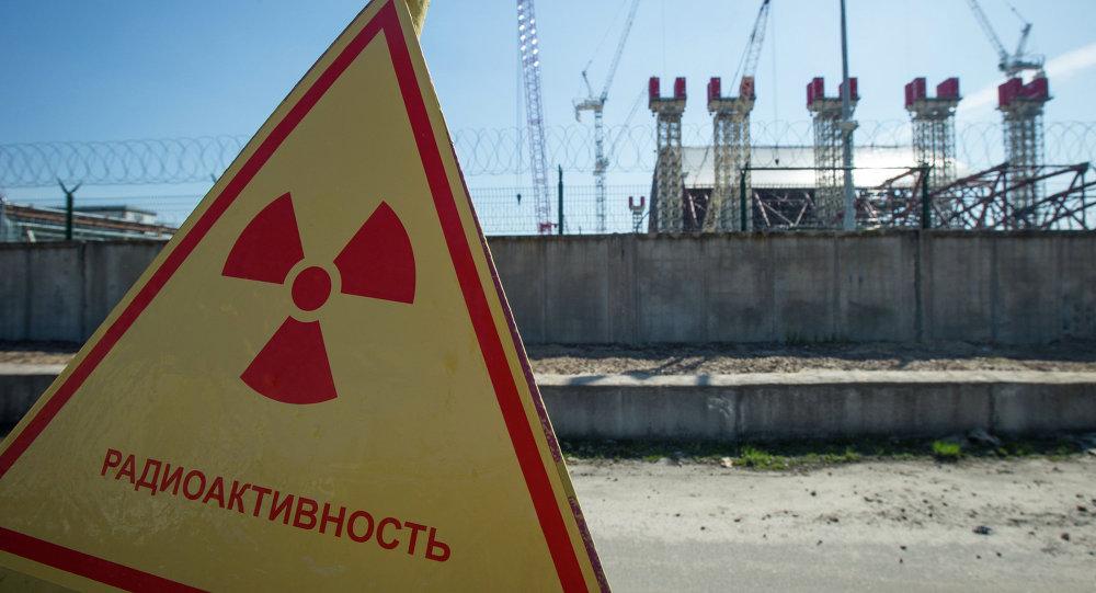 Zona radioactiva en Chernóbil