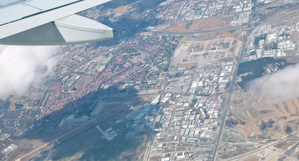 VIsta de base aérea de Getafe