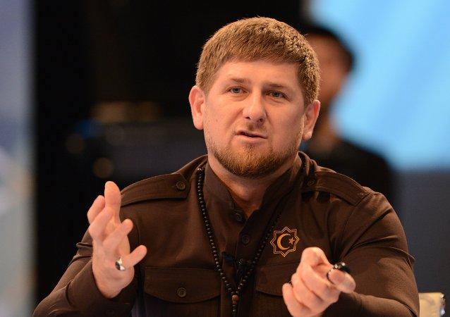 Ramzán Kadírov, el líder checheno (archivo)
