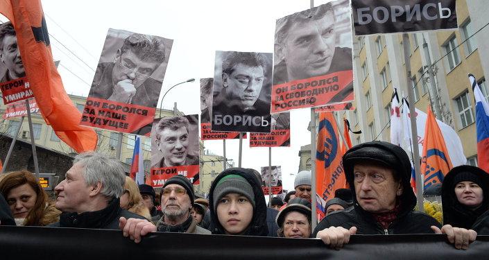 Moscú se moviliza por rendir homenaje a Nemtsov