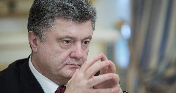 Petró Porishenko, presidente de Ucrania