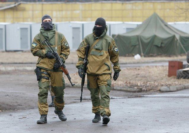 Efectivos del batallón Azov (archivo)