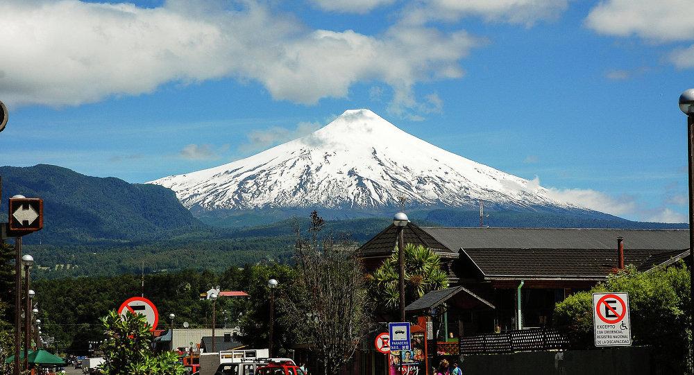Volcán Villarrica (archivo)