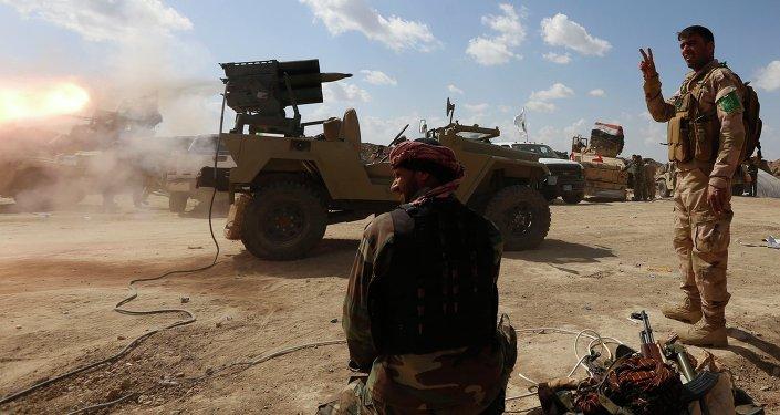 Fuerzas gubernamentales iraquíes