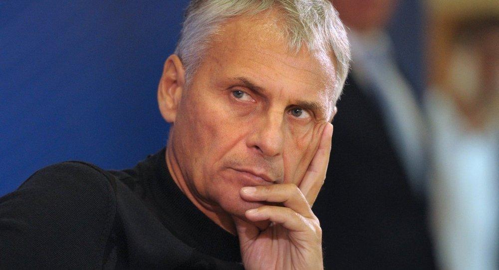 Alexandr Joroshavin, gobernador de la provincia rusa de Sajalín (archivo)