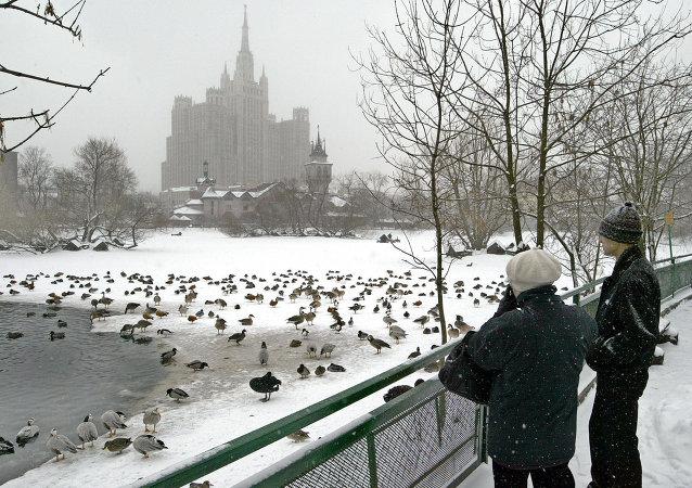 Zoológico de Moscú