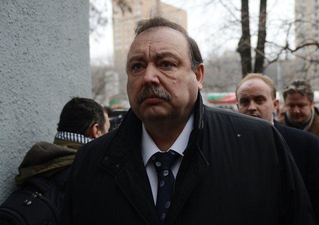 Gennadi Gudkov, coronel retirado del Servicio Federal de Seguridad de Rusia (FSB), uno de los compañeros del fallecido Borís Nemtsov