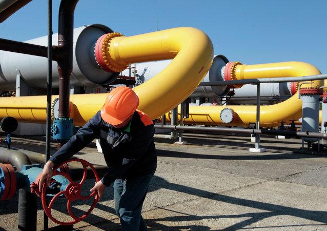 Tuberias de gas en Ucrania