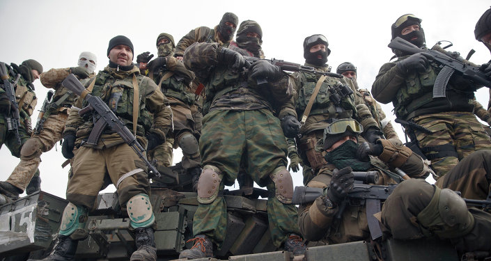 Milicias del este de Ucrania