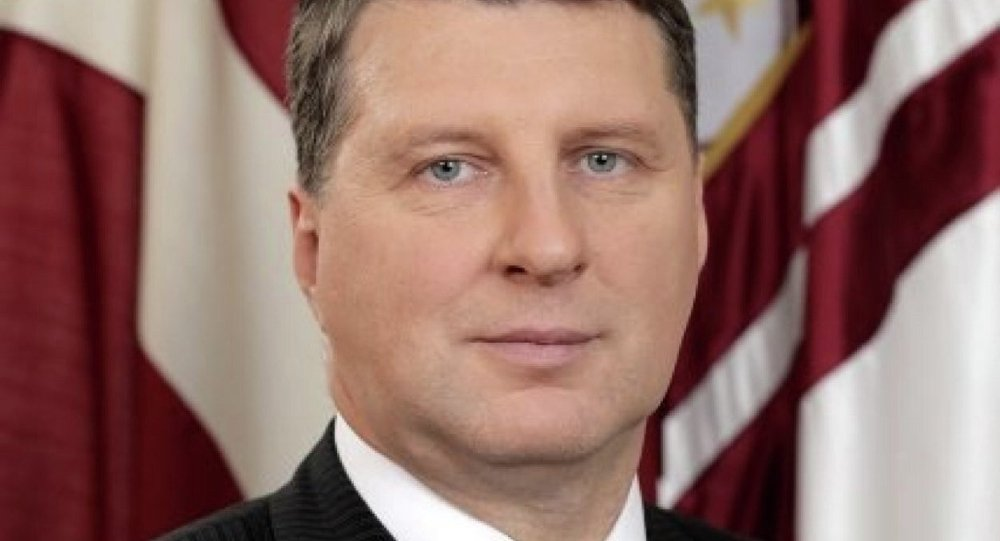 Raymond Veyonis, ministro de Defensa de Letonia
