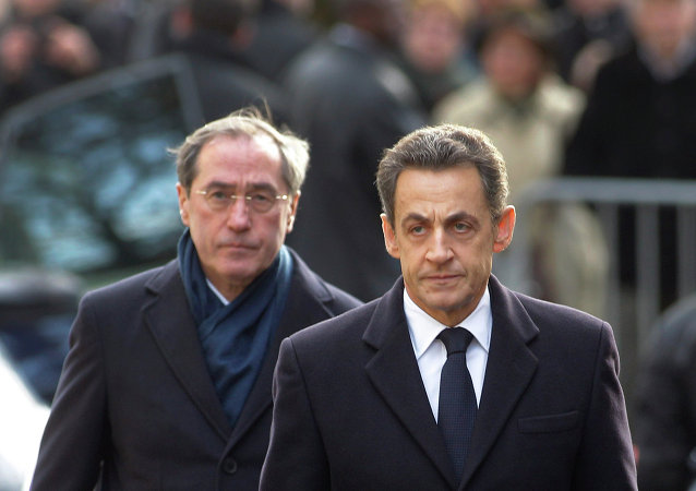 Nicolas Sarkozy con Claude Gueant