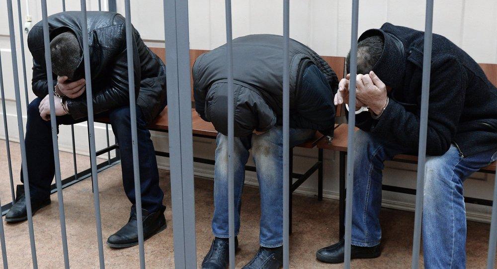Sospechosos del asesinato de Nemtsov