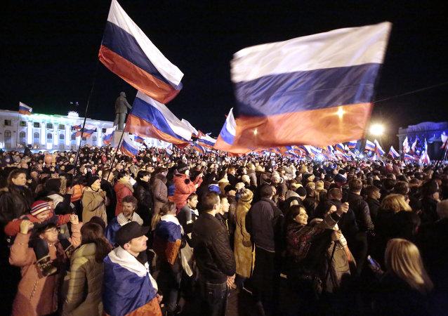 Crimea celebrará durante un mes el aniversario de la reunificación con Rusia