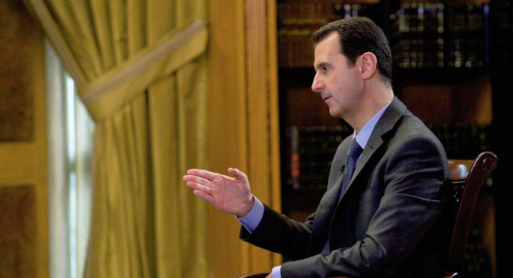 Bashar Asad, presidente de Siria