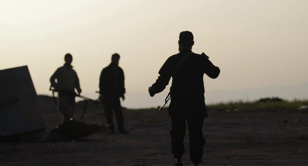 Combatientes del Ejército Libre de Siria