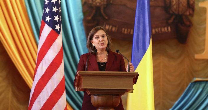 Victoria Nuland, subsecretaria del Departamento de Estado de EEUU (archivo)