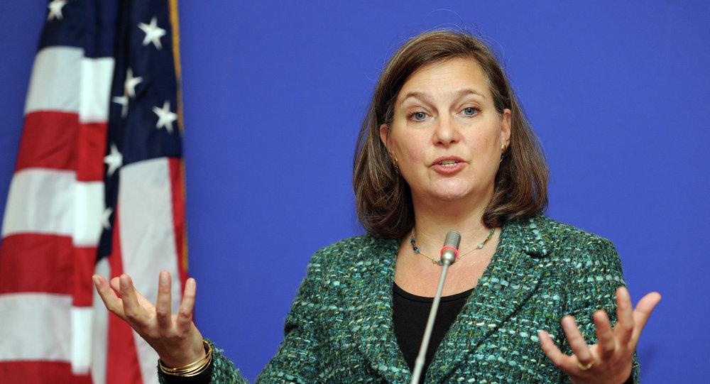 Victoria Nuland, subsecretaria de Estado de Estados Unidos