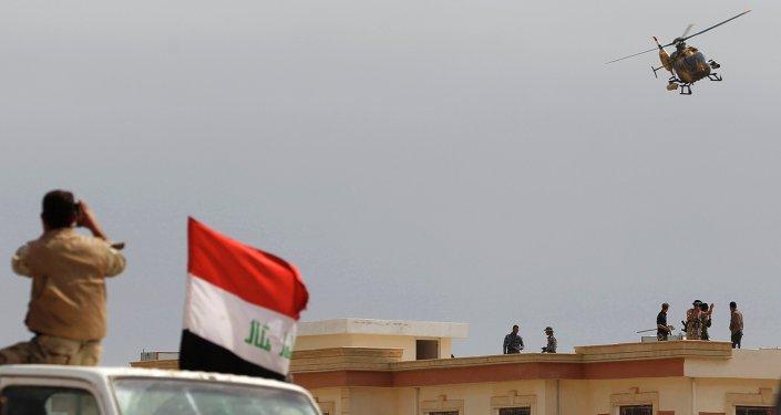 Las fuerzas de seguridad de Irak (archivo)