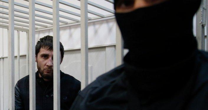 Zaúr Dadáev, uno de los detenidos por asesinato de Nemtsov