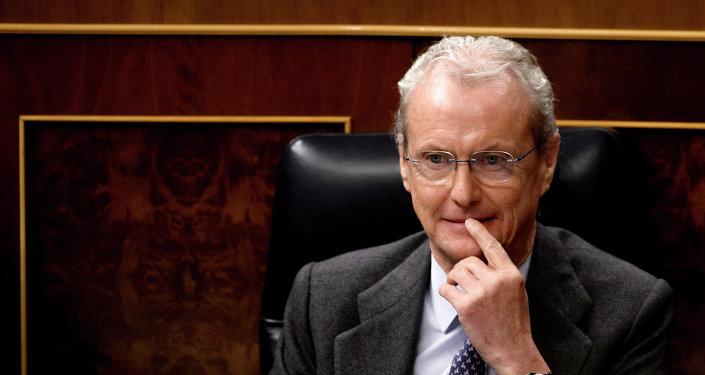 Pedro Morenés, ministro de Defensa de España