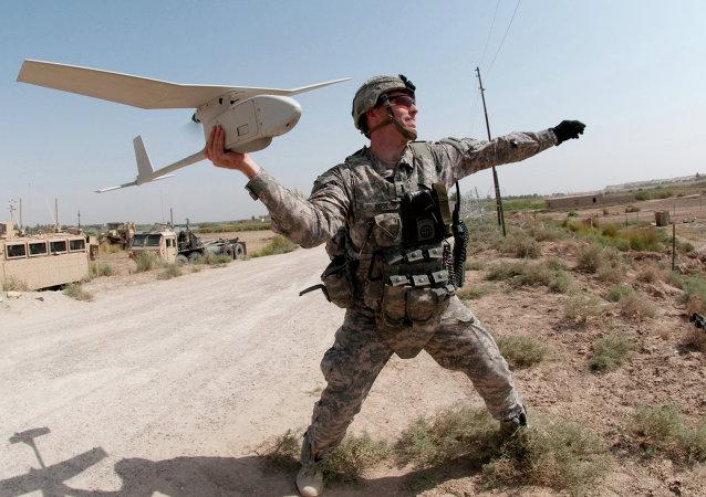 Vehículo aéreo no tripulado RQ-11 Raven